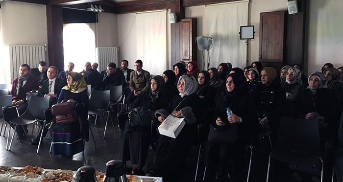Türkiye'nin Dört Bir Yanından Gelen Ensar Vakfı Yurt Müdürleri