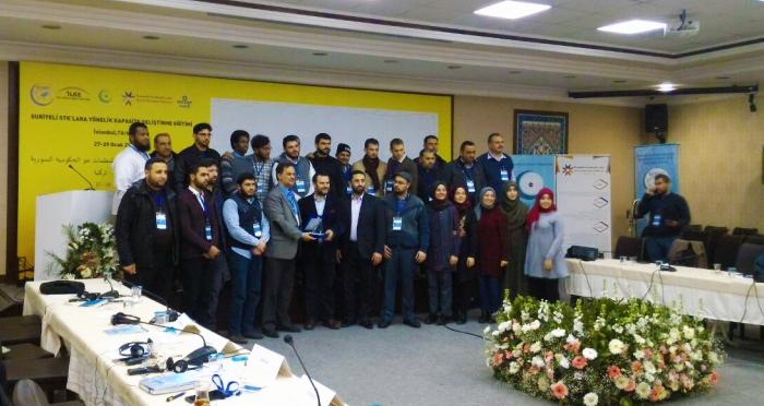 Suriyeli STK'lara yönelik kapasite geliştirme eğitimi programı başladı