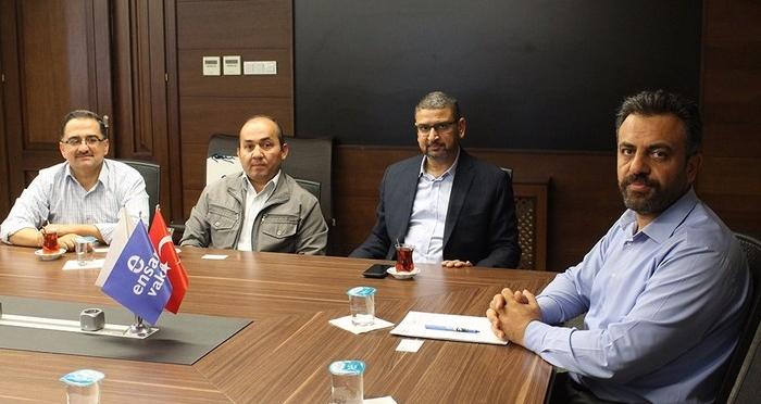 Hamas Resmi Sözcüsü, Kudüs ve Tarihimiz Derneği Ensar Vakfı'nı ziyaret etti.