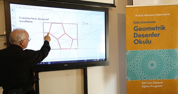 İslâm Sanatında Geometrik Desenler Okulu 1. Eğitim Programı Tamamlandı