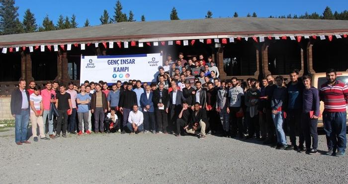 Trabzon'da Ensar Vakfı Gençlik Kampı
