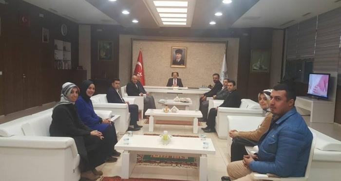 Ensar Vakfı'ndan Bitlis Valisi'ne Ziyaret