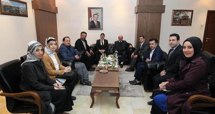 Ensar Vakfı'ndan Bitlis Eren Üniversitesi Rektörü'ne Ziyaret