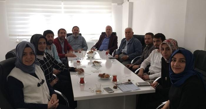 Ensar Vakfı Yurt Koordinasyon Merkezi Heyeti Ensar Yurtlarını ve Şubelerini ziyaret etti.