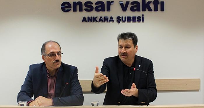 Ensar Buluşmalarının Konuğu Prof. Dr. Celal Türer'di
