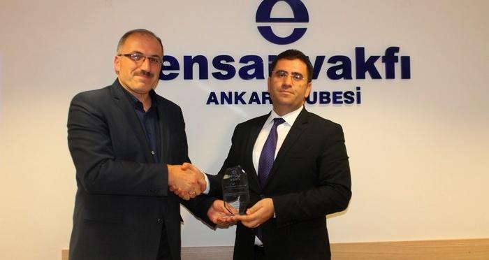 Ensar Buluşmalarında 'Türkiye'de Yayıncılık ve Kütüphanecilik' Konferansı