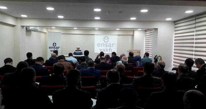 Ensar Vakfı İstanbul Şubeleri Koordinasyon Toplantısı