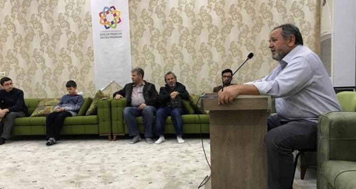 Ensar Vakfı Şanlıurfa Şubesinde Ramazan Sönmez Semineri