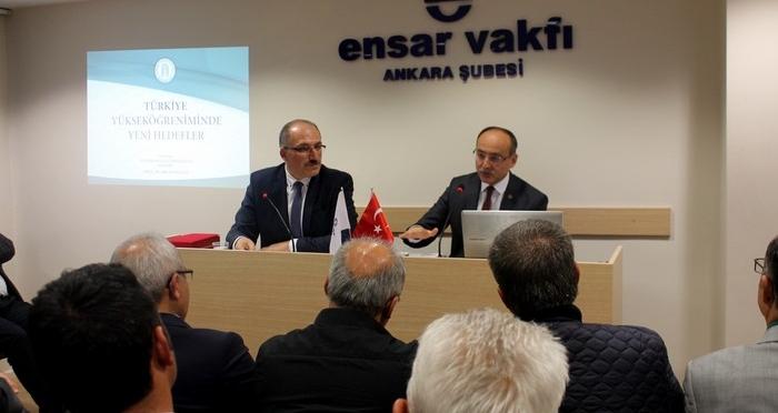 Türkiye Yükseköğretiminde Yeni Hedefler Konferansı