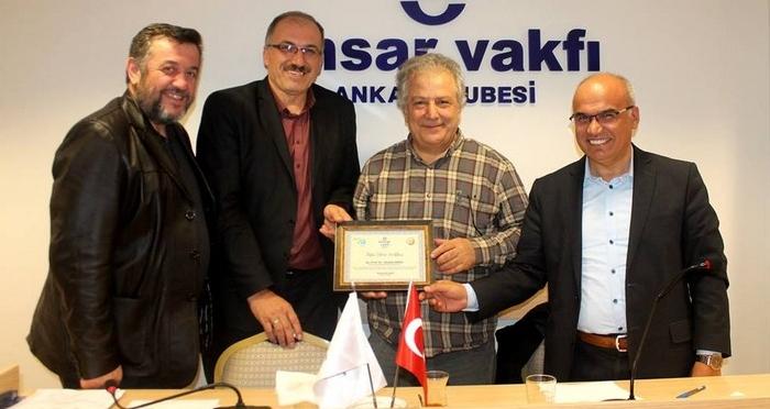 Ensar Vakfı Ankara Şubesi'nden 'İnsan' Konulu Konferans