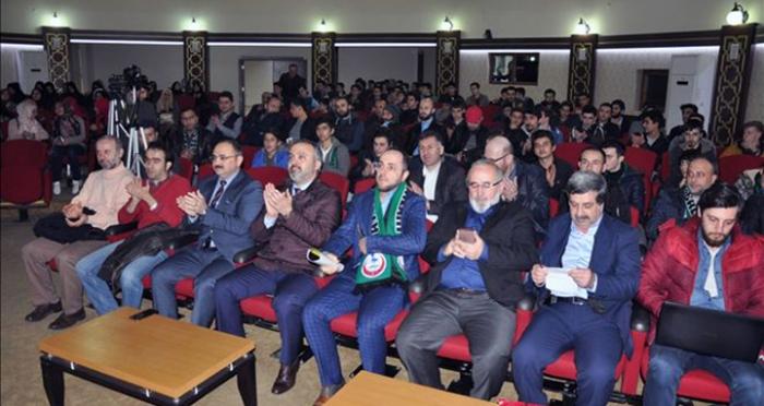 """İnegöl'de """"Tanıkları ile 28 Şubat Zulmü"""" konferansı yapıldı"""