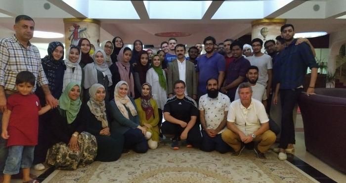 Nevşehir Valisi İlhami Aktaş TURKEN FOUNDATION'dan gelen öğrenciler ile Kapadokya'da buluştu