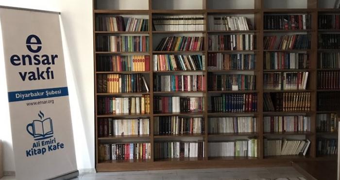 Ali Emiri Kitap Kafe Hizmete Girdi