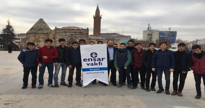 Ensar Vakfı Kırşehir Şubesi Öğrencilerini Ödüllendirdi!