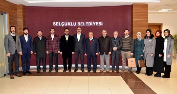 Ensar Vakfı Genel Merkezi'nden Konya'ya Ziyaret