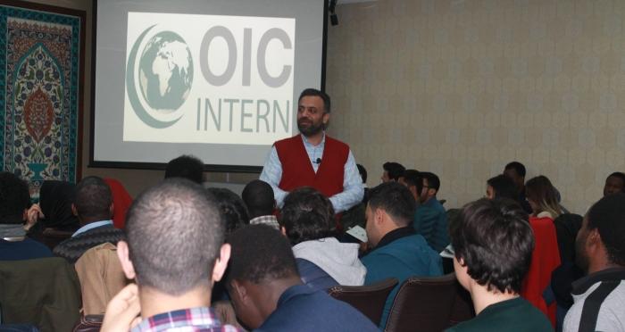 İslam İşbirliği Teşkilatı Uluslararası Staj Programı Oryantasyon Eğitimi