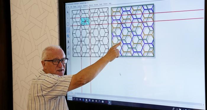 İslam Sanatında Geometrik Desenler Okulu Başladı