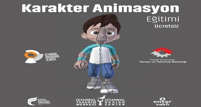 İstanbul Tasarım Merkezi'nden 'Animasyon Okulu'