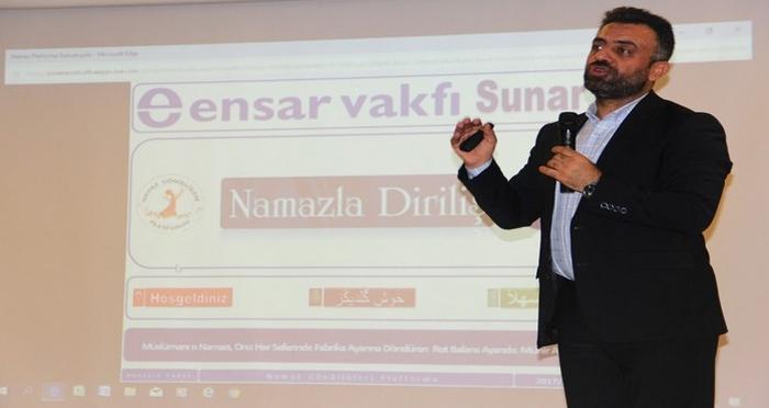Bingöl'de Namazla Diriliş Semineri Gerçekleştirildi