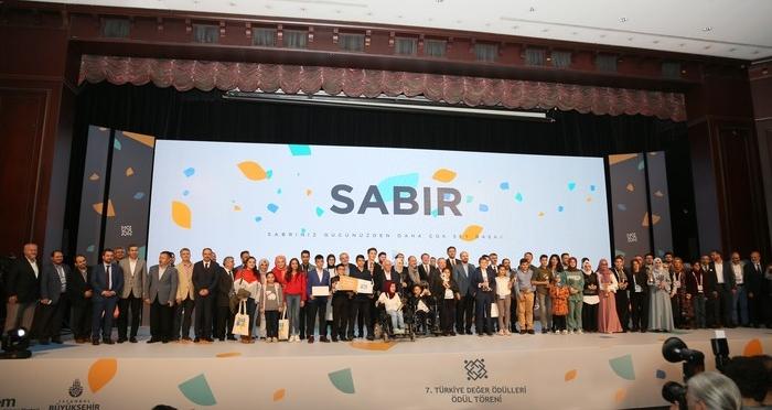 '7. Türkiye Değer Ödülleri' Sahiplerini Buldu