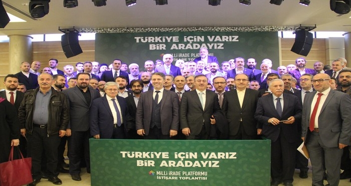 Milli İrade Platformu İstişare Toplantısı Prof. Dr. Numan Kurtulmuş'un Katılımıyla Gerçekleşti