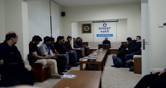Genç Ensar Pendik Şubesi Türkiye ve Dünya Ekonomisinin Bugünü ve Yarını Konulu Söyleşi Gerçekleştirdi