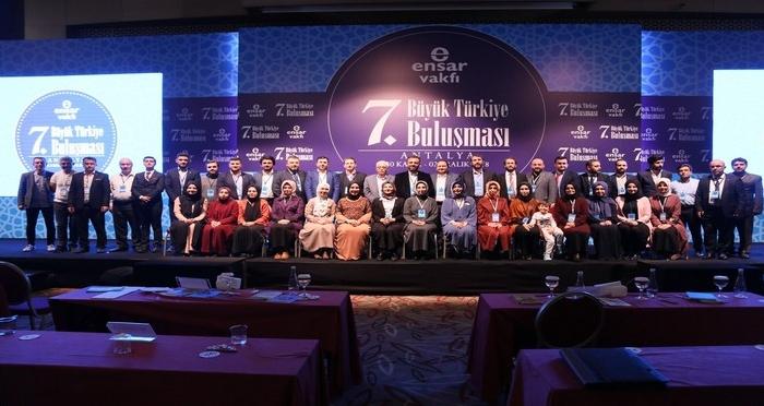 Ensar Vakfı 7. Büyük Türkiye Buluşması Antalya'da Gerçekleşti
