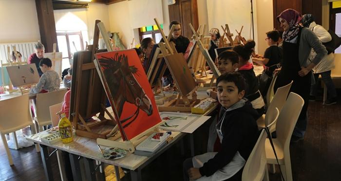 İstanbul Tasarım Merkezi'nde Çocuklar için Resim Atölyesi Başladı