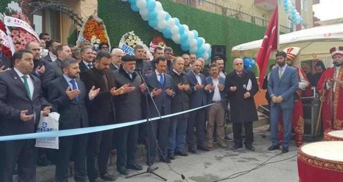 Ensar Vakfı Ataşehir ŞubesiYükseköğretimErkek Öğrenci Yurdu Hizmete Açıldı