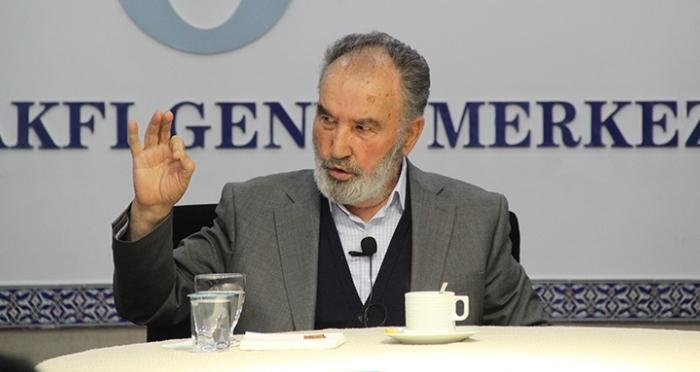 İlahiyat Vefa Dersleri Prof. Dr. Hayreddin Karaman'ın katılımıyla gerçekleştirildi