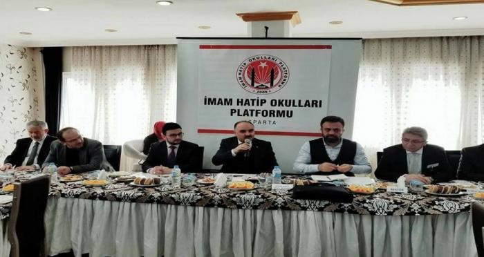 Isparta İmam Hatip Okulları Platformu Toplantısı