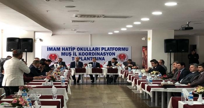Muş İmam Hatip Okulları Koordinasyon Toplantısı