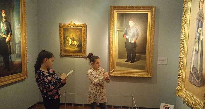 Geleceğin Ressamları Milli Saraylar Resim Müzesinde