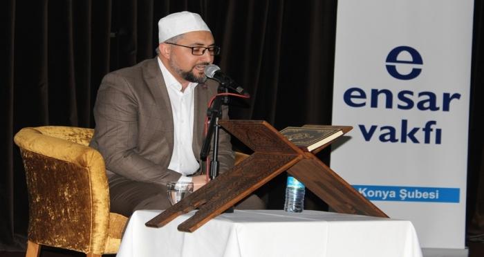 Genç Ensar Konya Şubesi'nden Kur'an-ı Kerim Ziyafeti