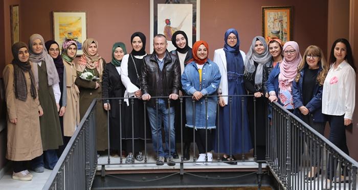 Ahmet Öğreten ve Öğrencileri Suluboya Sergisi Açıldı