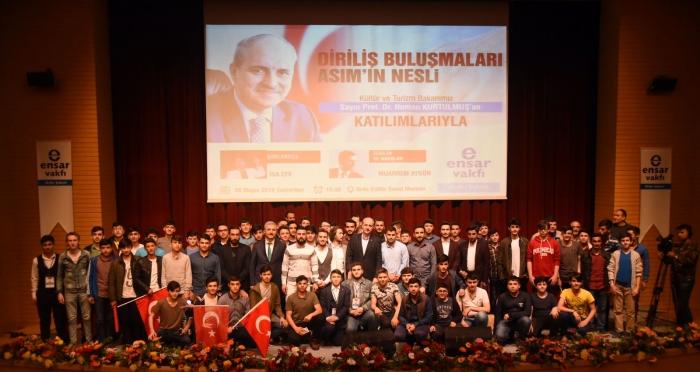 Kültür ve Turizm Bakanı Numan Kurtulmuş Ordu'da Gençlere Seslendi!