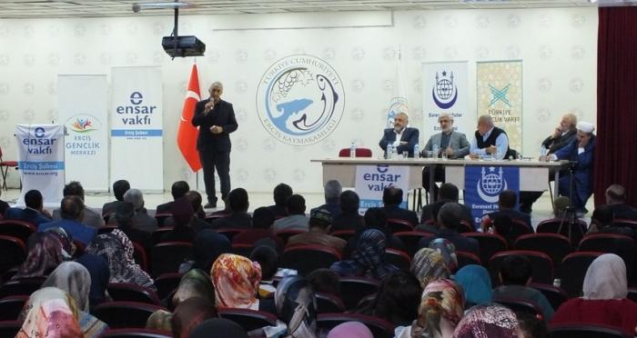 Erciş'te Namazla Diriliş İkinci On Yıl Programı