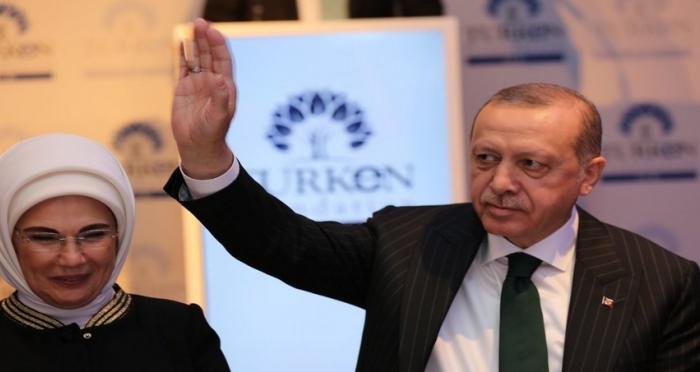 Cumhurbaşkanı Erdoğan, Londra'da TURKEN Vakfı Yemeğine Katıldı!