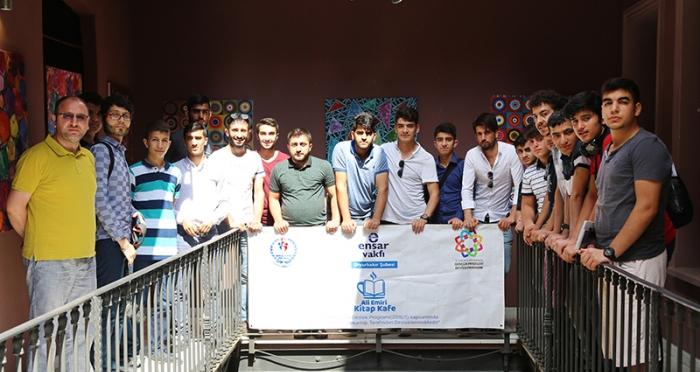 Diyarbakır'lı Gençler İTM'yi Ziyaret Etti