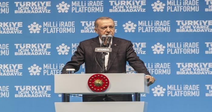 Cumhurbaşkanı Erdoğan, Milli İrade Platformu İftarında STK'larla Bir Araya Geldi