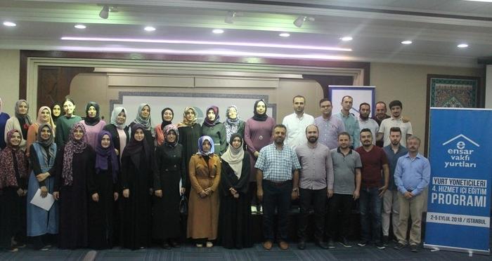 Ensar Vakfı Yurtları 4. Hizmetiçi Eğitim Programı Ensar Vakfı Genel Merkezi'nde Gerçekleşti
