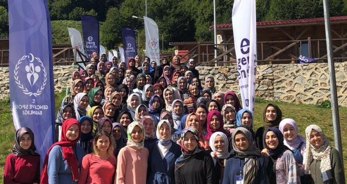 3. Genç Ensar Kampı Samsun Nebiyan Yaylası'nda Yapıldı