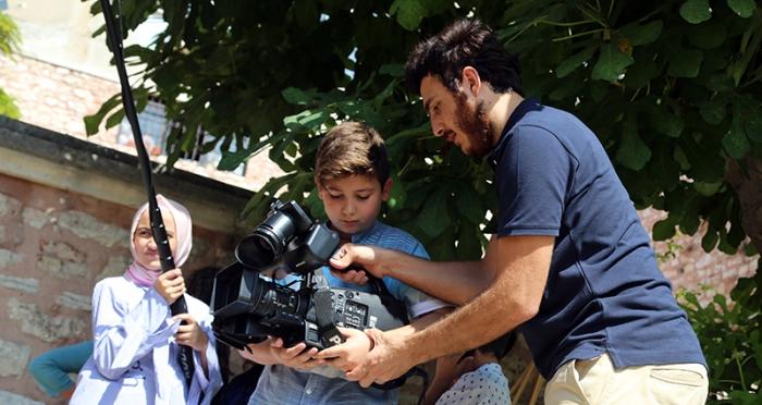 Çocuklarla 5 Gün 5 Tasarım Atölyesi 'Kısa Film Atölyesi'