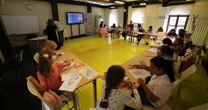 Çocuklarla 5 Gün 5 Tasarım Atölyesi 'Desen Tasarım Atölyesi'