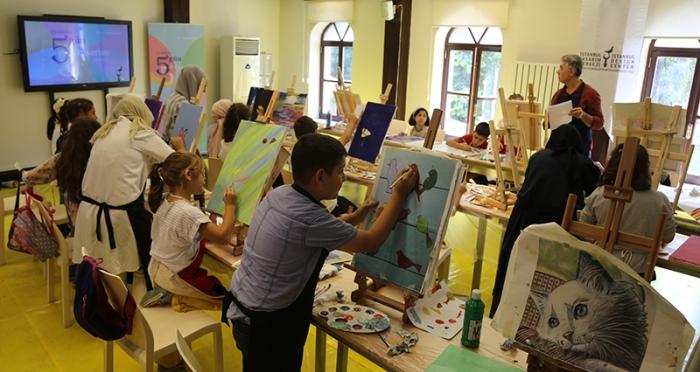 Çocuklarla 5 Gün 5 Tasarım Atölyesi 'Resim Atölyesi'