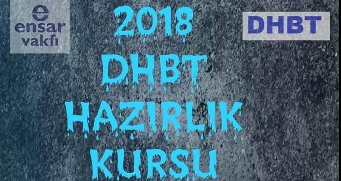 Ensar Vakfı Aksaray Şubesi DHBT Kursu Açtı