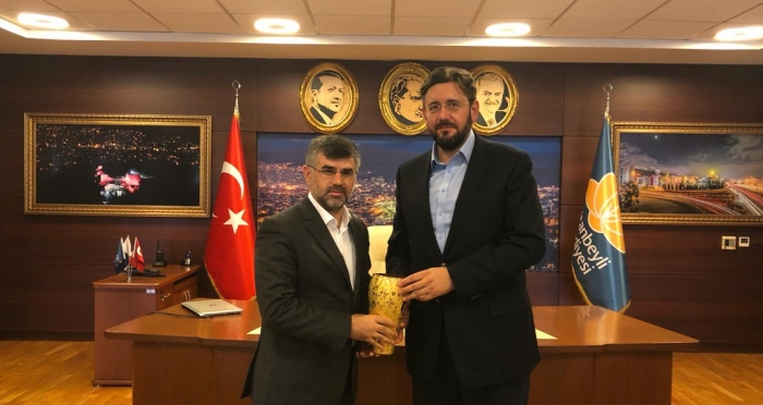 Ensar Vakfı Genel Merkezi'nden İstanbul Ziyaretleri