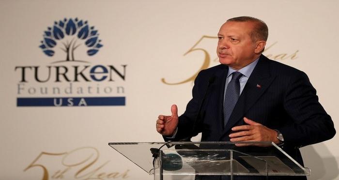 Cumhurbaşkanı Erdoğan, 5. Geleneksel TURKEN Vakfı Gala Yemeğine Katıldı