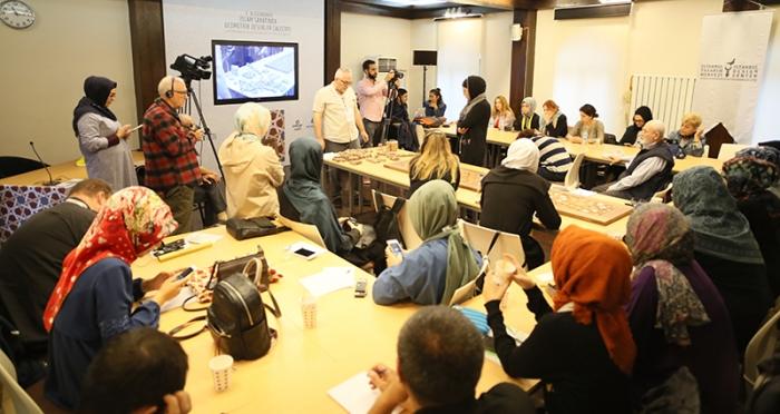 4.Uluslararası İslam Sanatında Geometrik Desenler Çalıştayı 2. Günü