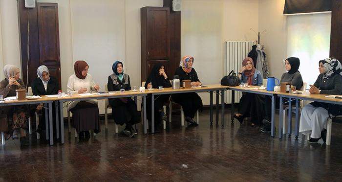 Ensar Vakfı Hanımlar Komisyonu Toplantısı İTM'de Gerçekleşti